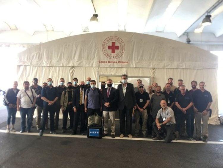 Εργαζόμενοι για το NATO στο Αφγανιστάν (φωτ.: twitter.com/pontecorvoste)