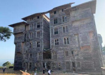 Το ξύλινο ελληνικό ορφανοτροφείο στην Πρίγκηπο (φωτ.: dailynews.tr)