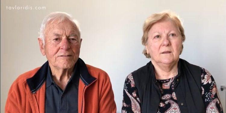 Οι γονείς του Χάρη Ταβλαρίδη(φωτ.: Harry Pontian/ YpouTube)