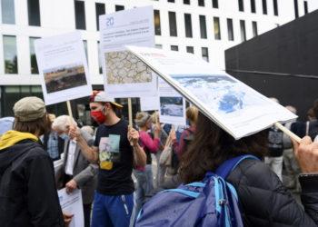 Διαμαρτυρίες για το κλίμα από το 2020 (φωτ.: EPA/ Laurent Gillieron)