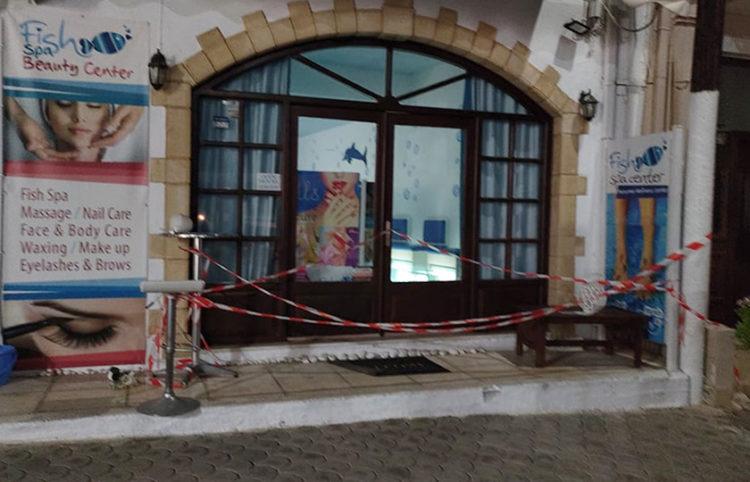 H επιχείρηση της Σταυρούλας Συραγοπούλου στο Πάνορμο Ρεθύμνου (φωτ.: ΕΡΤ)