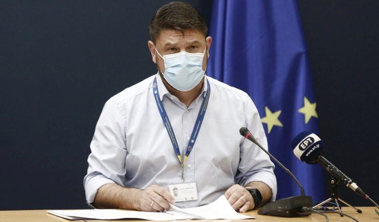 O υφυπουργός Πολιτικής Προστασίας και Διαχείρισης Κρίσεων Νίκος Χαρδαλιάς (φωτ.; ΑΠΕ-ΜΠΕ/ Αλέξανδρος Βλάχος)