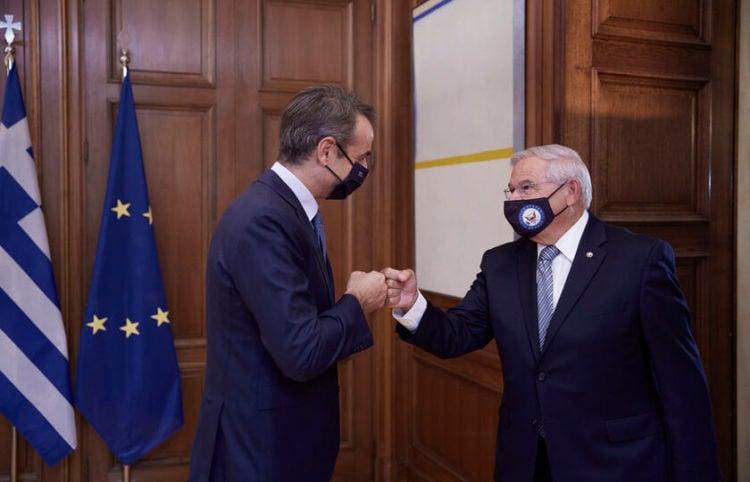 (Φωτ.: ΑΠΕ ΜΠΕ/ Γραφείο Τύπου του Πρωθυπουργού/ Δημήτρης Παπαμήτσος