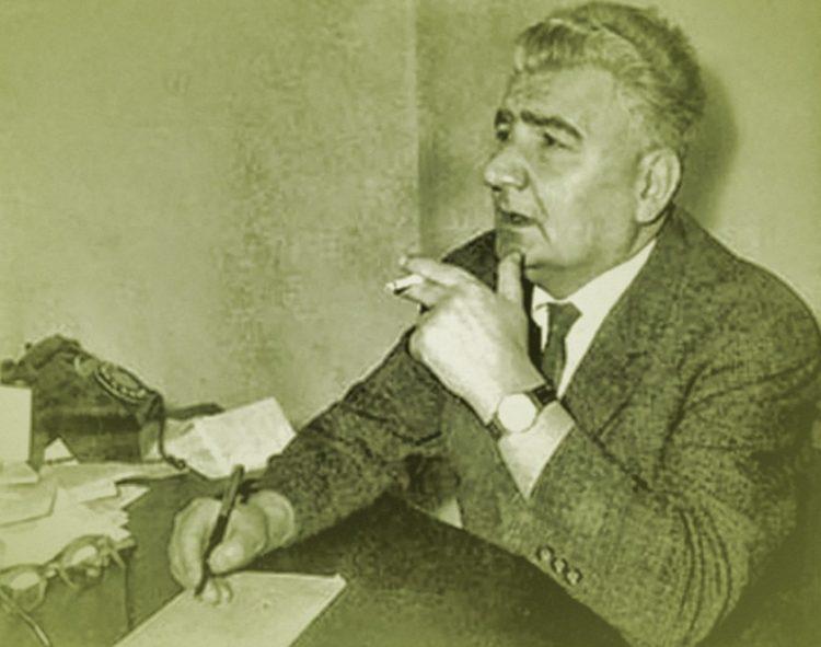 Ο Πόντιος συγγραφέας και δημοσιογράφος Δημήτρης Ψαθάς (Αρχείο Μαρίας Ψαθά και Λένας Νίτσου)