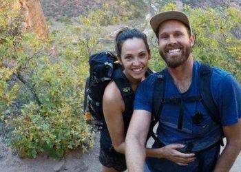 Ο Μάθιου Τέιλορ Κόλμαν με τη σύζυγό του (πηγή: Instagram)