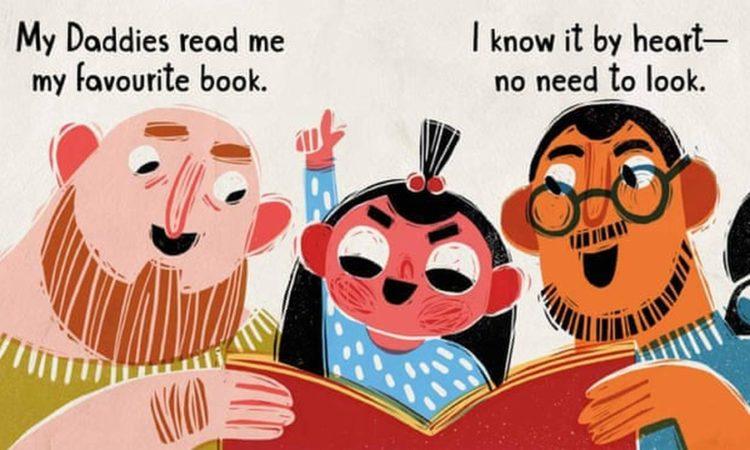 Σκίτσο από βιβλίο με μηνύματα που έχουν ενοχλήσει την ουγγρική κυβέρνηση (φωτ.: Lawrence Schimel and Elina Braslina)