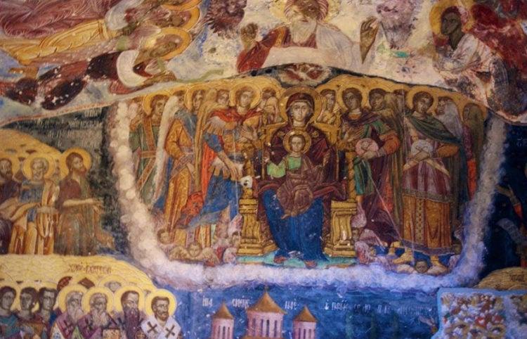 Λεπτομέρεια αγιογραφίας στην Παναγία Σουμελά στον Πόντο (φωτ.: Sıtkı Coşkun)