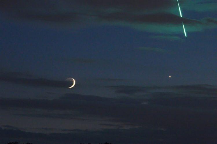 (Φωτ.: esa.int/ESA_Multimedia/Images/2018/06/Fireball_Moon_Venus)