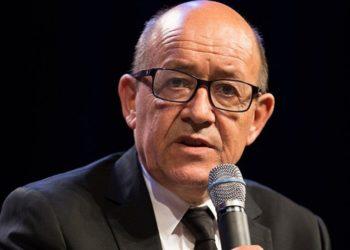 Ο Γάλλος υπουργός Εξωτερικών (φωτ.: Ecole polytechnique Université Paris-Saclay)