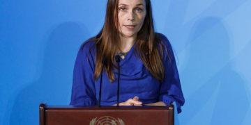 Η Ισλανδή πρωθυπουργός (φωτ.: EPA/ Justin Lane)