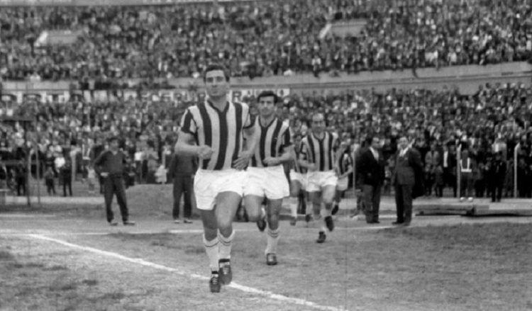 Ο Λεφτέρ, στο γήπεδο, το 1963