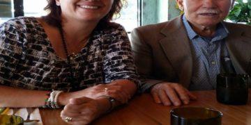 Ο Γιάννης Σελίμης με την κόρη του (φωτ.: Facebook /Νίκη Σίμου)
