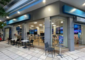 Το κατάστημα ΟΠΑΠ του Κωνσταντίνου Κάργιου στη Θεσσαλονίκη (φωτ.: opap.gr)