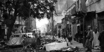 Εικόνα της απόλυτης καταστροφής στην Πόλη