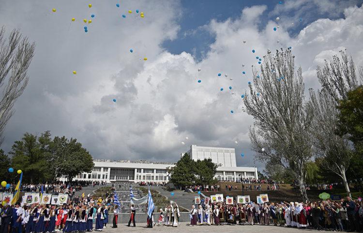 (Φωτ.: Ομοσπονδία Ελληνικών Συλλόγων Ουκρανίας)