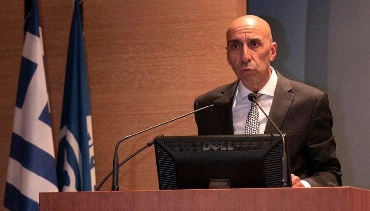 Ο νέος πρόεδρος του ΕΒΕΑ Γιάννης Μπρατάκος (φωτ.: ΕΒΕΑ)
