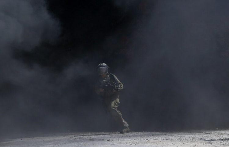 Από συγκρούσεις του στρατού με πολίτες της Παλαιστίνης, 3 Σεπτεμβρίου 2021 (φωτ.: EPA/ Alaa Badarneh)