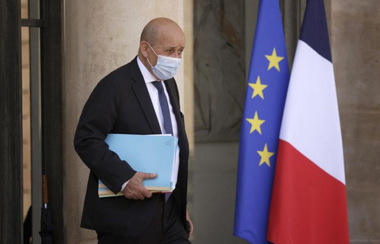Ο υπουργός Εξωτερικών της Γαλλίας Ζαν-Ιβ Λε Ντριάν (φωτ.: EPA / Yoan Valat)
