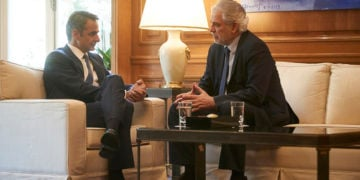 (Φωτ.: Γραφείο Τύπου Πρωθυπουργού / Δημήτρης Παπαμήτσος)