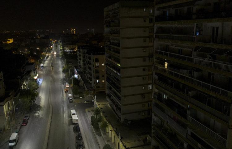 H περιοχή των δωδεκαώροφων επί της Λαγκαδά, στη Θεσσαλονίκη (φωτ.: ΑΠΕ-ΜΠΕ / Δημήτρης Τοσίδης)