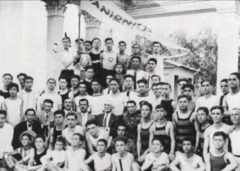Η υποδοχή προσφύγων αθλητών του Πανιωνίου το 1922 (φωτ.: Πανιώνιος ΓΣΣ)