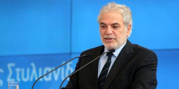 Ο νέος υπουργός Χρήστος Στυλιανίδης (φωτ.: ΑΠΕ-ΜΠΕ/ Παντελής Σαίτας)