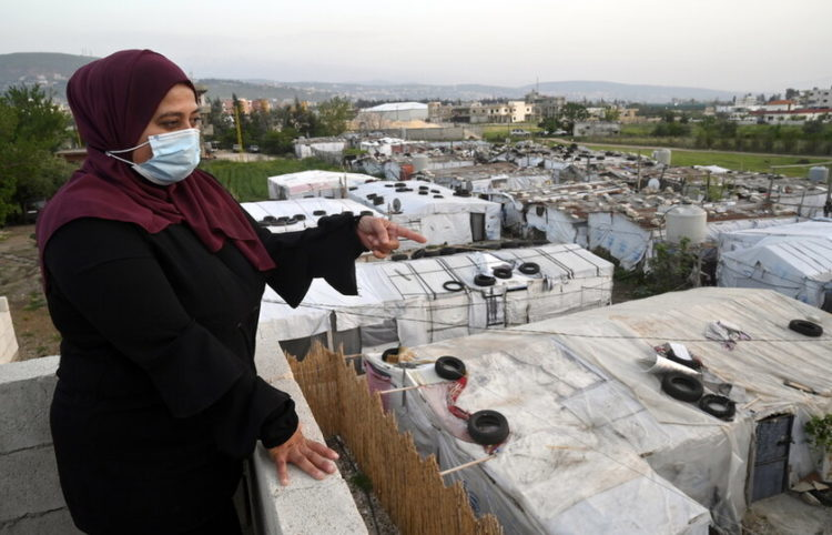 Μία πρόσφυγας που βρίσκεται στο Λίβανο (φωτ.: EPA/ Wael Hamzeh)