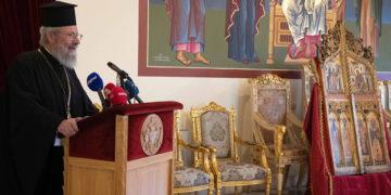 (Φωτ.: Αρχιεπισκοπή Κύπρου)