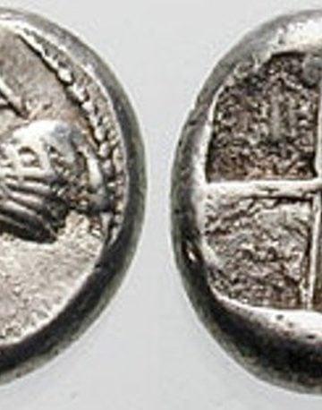 Δραχμή της Σηλυβρίας 480-450 π.Χ.