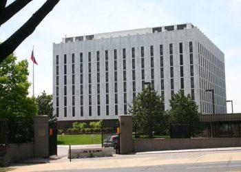 Η πρεσβεία της Ρωσίας στην Ουάσινγκτον (φωτ.: commons.wikimedia.org/Flickr)