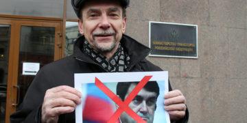 Ο Ρώσος ακτιβιστής (φωτ.: Vitaly Ragulin)