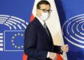 Ο πρωθυπουργός της Πολωνίας Ματέους Μοραβιέτσι (φωτ.: EPA / Ronald Wittek / Pool)