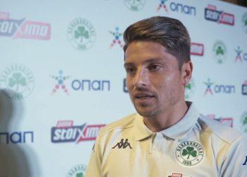 Ο ποδοσφαιριστής του Παναθηναϊκού Σεμπαστιάν Παλάσιος (πηγή: YouTube)
