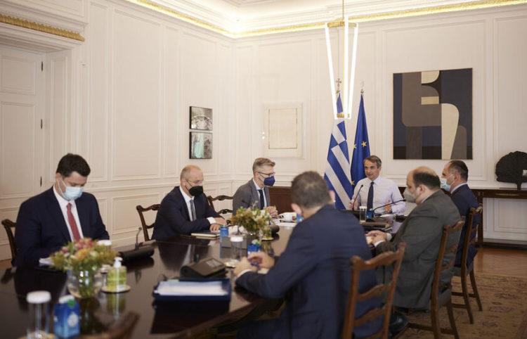 (Φωτ.: ΑΠΕ-ΜΠΕ/ Γραφείο Τύπου Πρωθυπουργού/ Δημήτρης Παπαμήτσος)