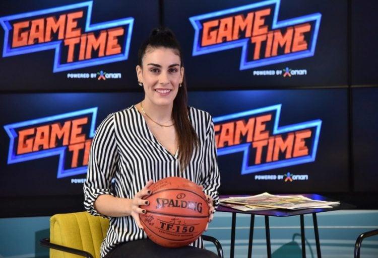 Η μπασκετμπολίστρια Γωγώ Σταμάτη (opap.gr)