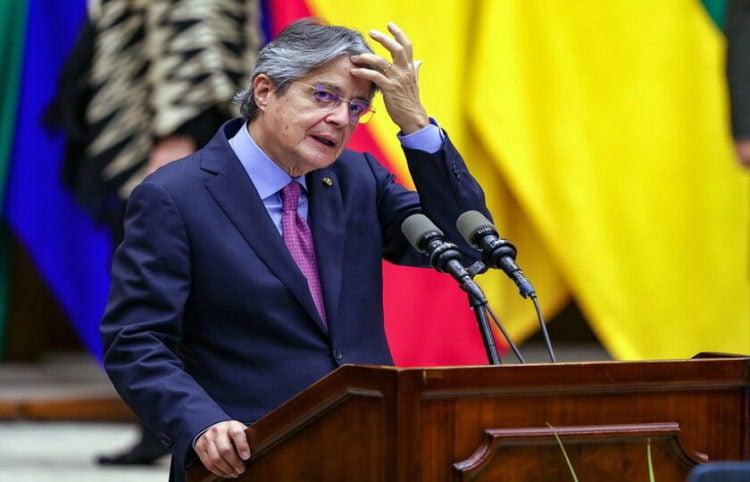 Ο πρόεδρος του Ισημερινού (φωτ.: EPA/ Jose Jacome)