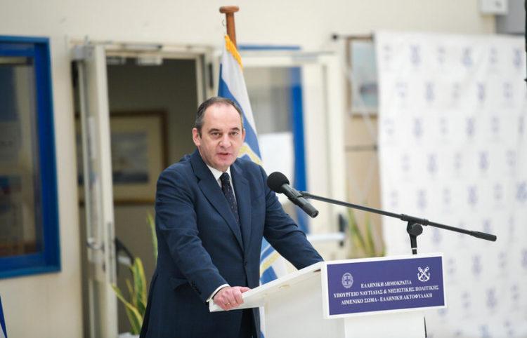Ο υπουργός Ναυτιλίας και Νησιωτικής Πολιτικής Γιάννης Πλακιωτάκης (Φωτ.: ΑΠΕ-ΜΠΕ/ Υπουργείο Ναυτιλίας και Νησιωτικής Πολιτικής)