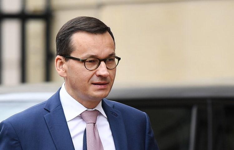 Ο Πολωνός πρωθυπουργός (φωτ.: EPA/ Andy Rain)